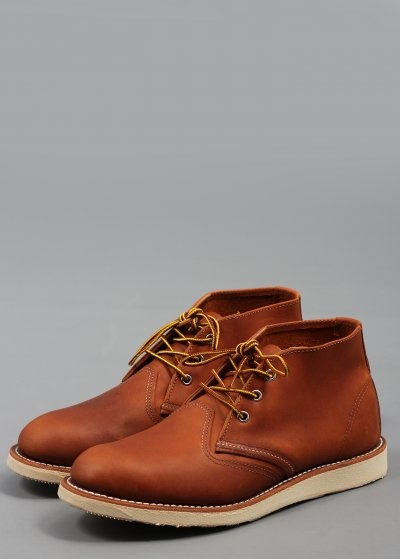 Red Wing Chukka Boot 3140 Leather Brown