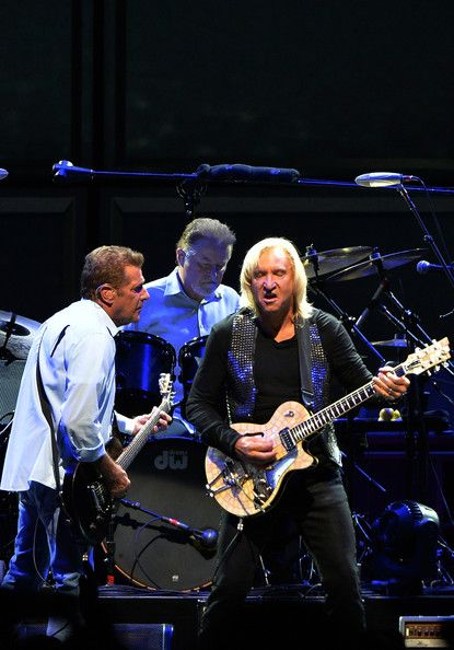 History of the Eagles Live in Concert October 15, 2013 In this photo: Joe Walsh, Don Henley, Glenn Frey