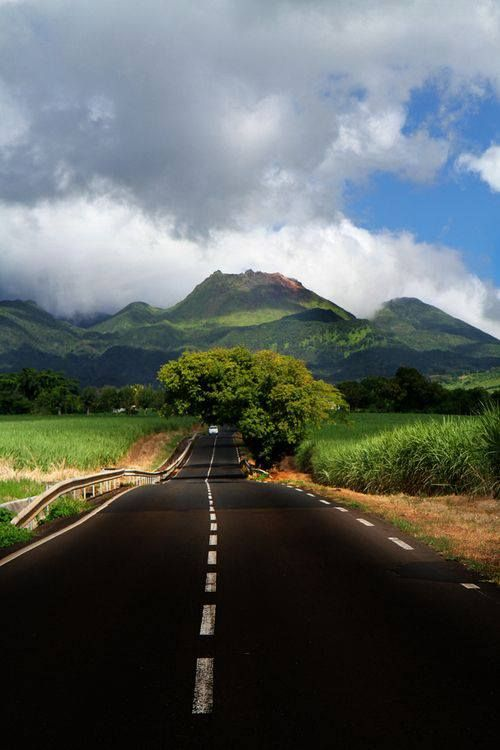La Soufriere volcano, Guadeloupe,France