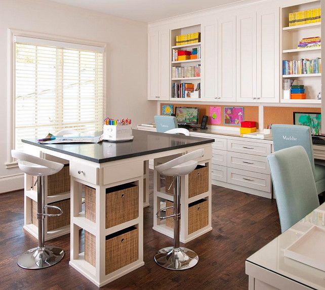Home Office Craft Room Ideas: 17 Best Images About Home Office Craft Room On Pinterest