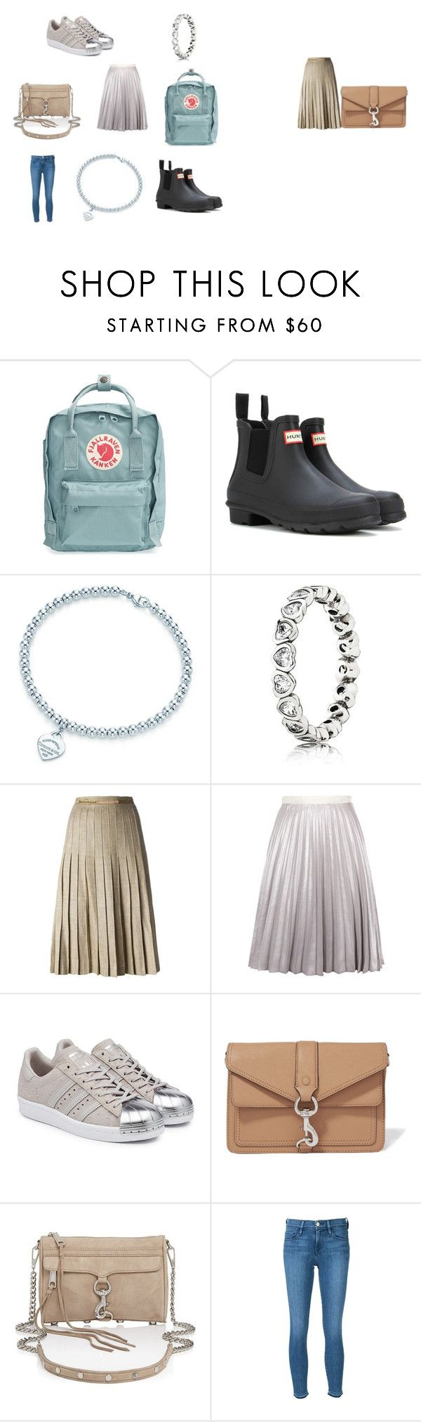 """Untitled #5"" by claudia308 on Polyvore featuring Fjällräven, Hunter, Tiffany & Co., CÉLINE, Antipodium, adidas Originals, Rebecca Minkoff and Frame"