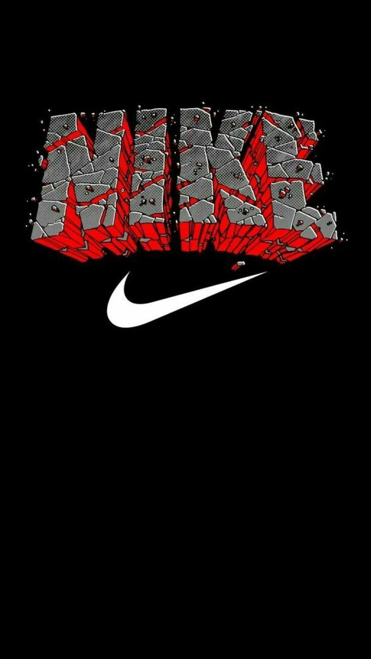 Nike Black Wallpaper Iphone Android Nike Wallpaper Nike Logo Wallpapers Nike Wallpaper Iphone