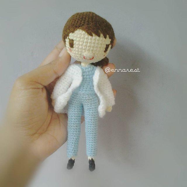 #kangmoyeon #descendantsofthesun #dots #songhyekyo #doctor #amigurumi #crochetdolls #rajut #bonekarajut #crochet #handmade