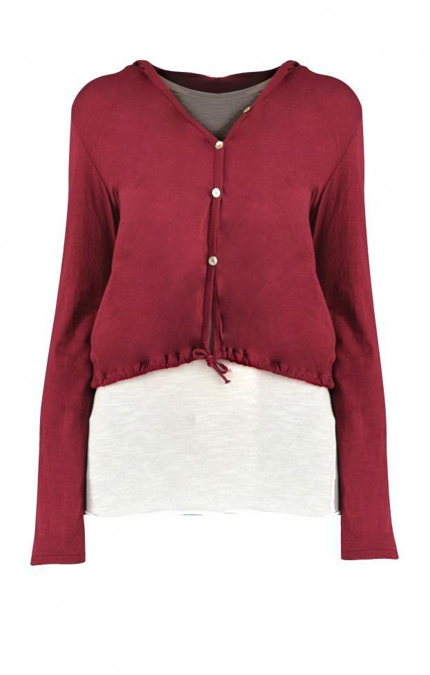 Γυναικεία μπλούζα διπλή