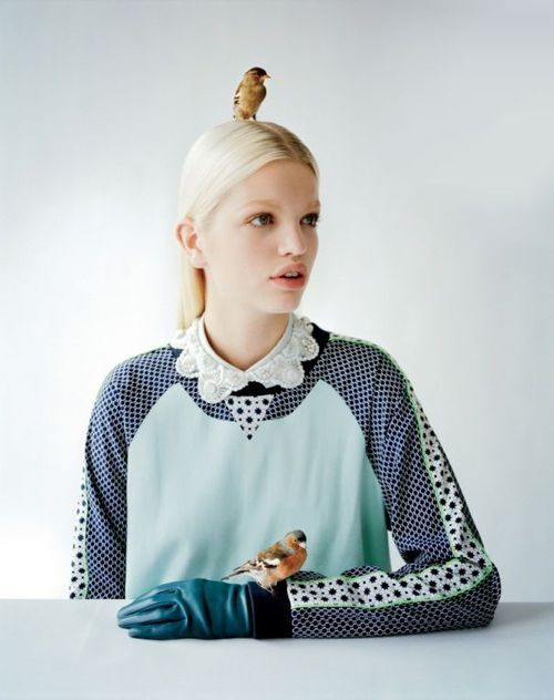 O2'd Fall 2012 advertising campaign. Daphne Groeneveld shot by Tim Walker.