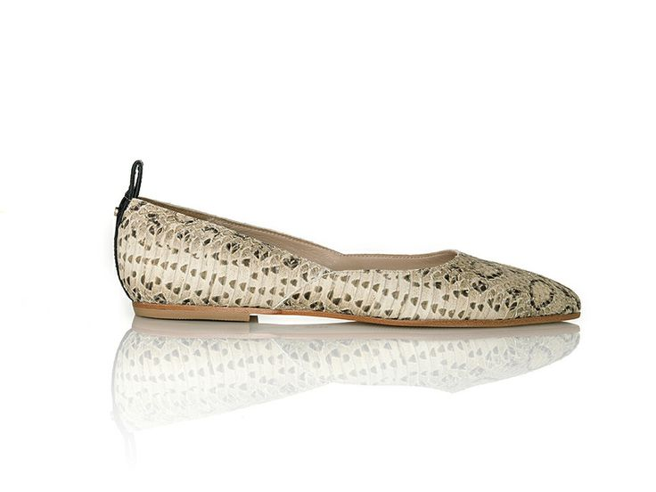 Nadia Beige Snake Print via ATP ATELIER – All Tomorrow's Parties. Click on the image to see more!