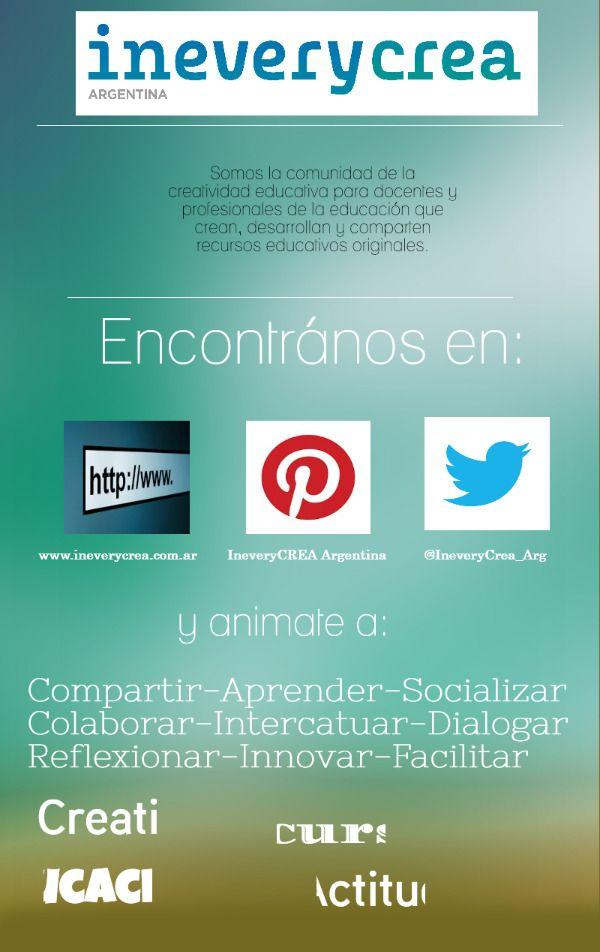 Presentación IneveryCREA Argentina  | @Piktochart Infographic