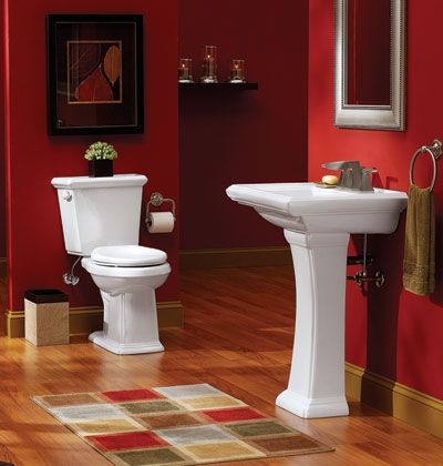 Images Photos Red Bathroom Design Ideas Picture get inspired ideas for better kitchen design and better bathroom design