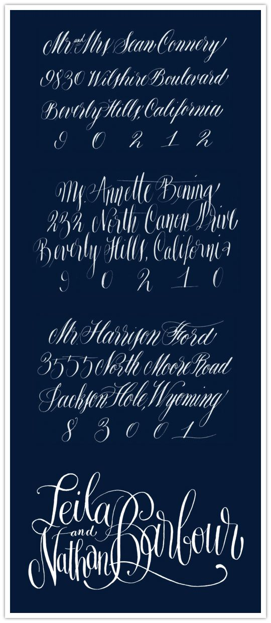 47 best images about copperplate on pinterest Anne elser calligraphy