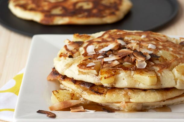 Serve Dad Breakfast in Bed with IMUSA's Pina Colada Pancakes