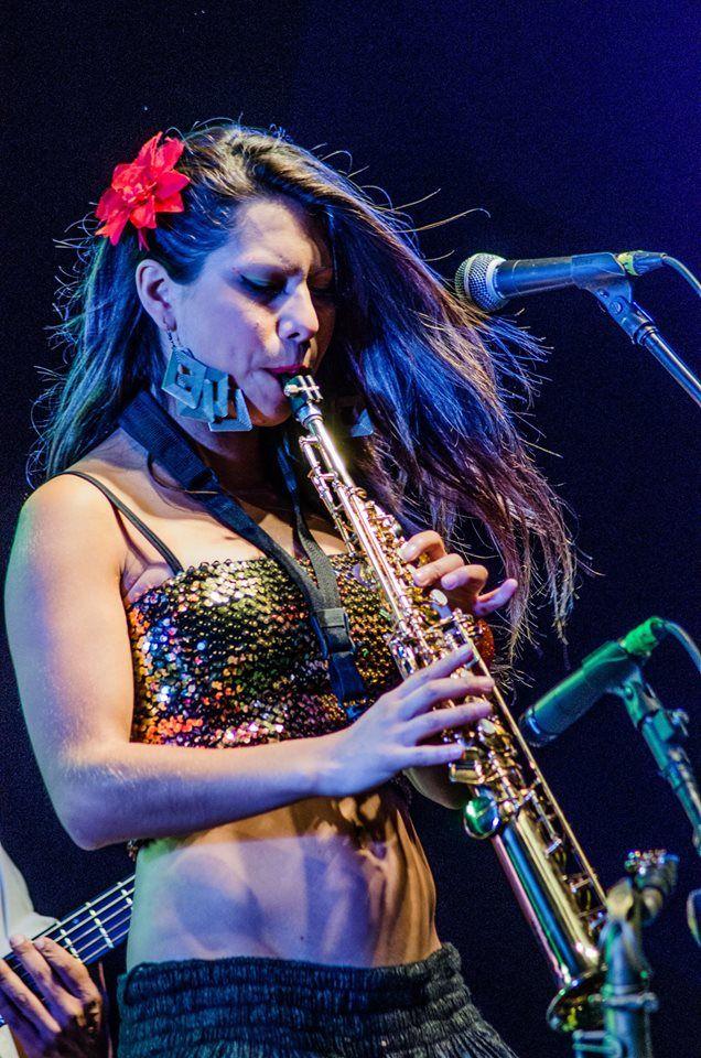 saxofon soprano en festival Oxapampa Perú