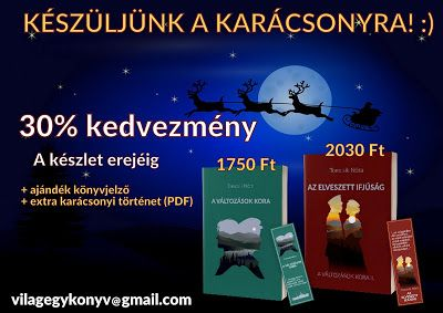 Tomcsik Nóra: Karácsonyi kedvezmény, könyvmegjelenés. :)