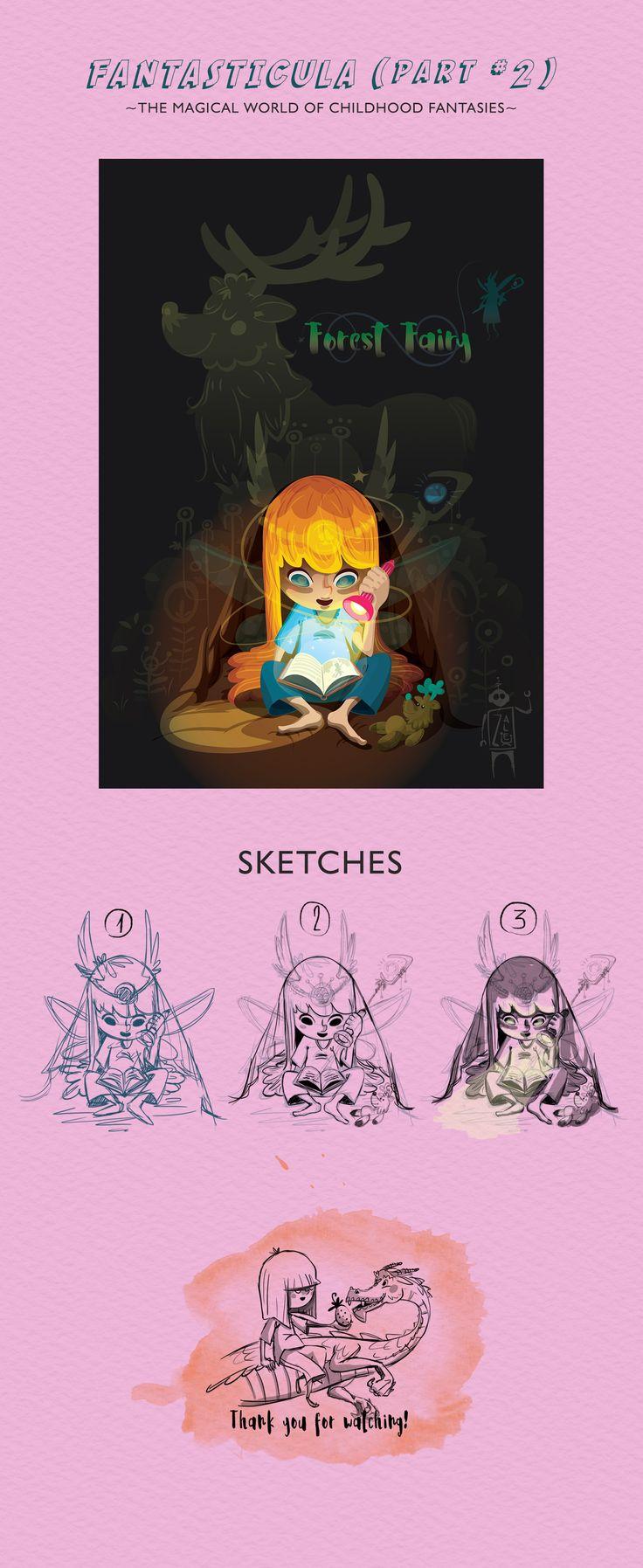 Ознакомьтесь с моим проектом @Behance: «FANTASTICULA - Forest Fairy» https://www.behance.net/gallery/55198097/FANTASTICULA-Forest-Fairy