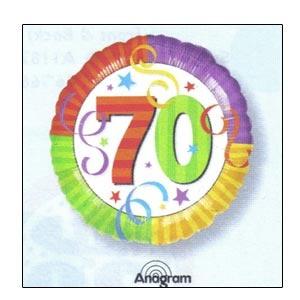 """Perfection 70 Mylar Balloon 18"""""""