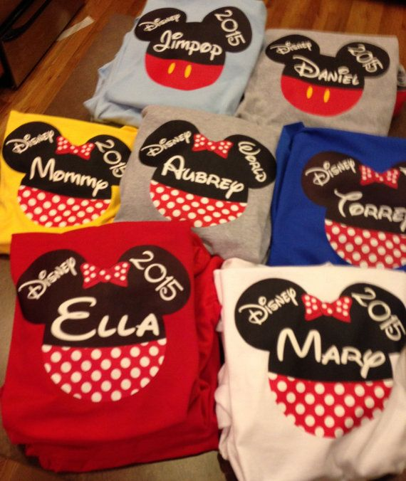Disney bound 2016 disney shirt 2016 going to by SaraSewtique