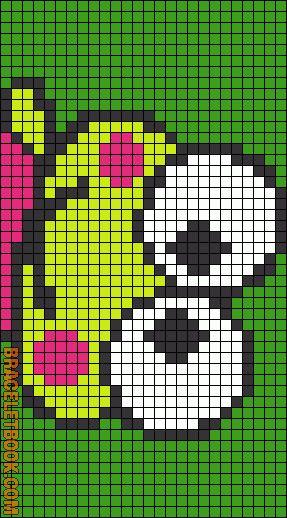 443 Best Pixel Art Images On Pinterest Bead Patterns