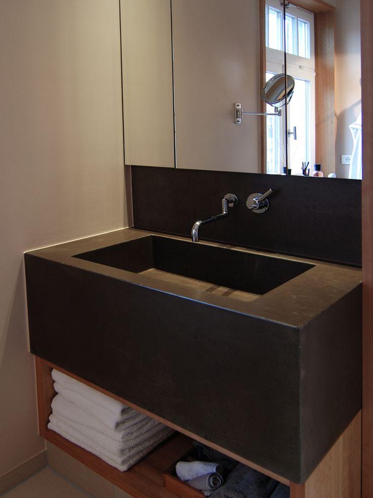 waschbecken globulu aus beton in dunkelgrau bathroom pinterest shops und produkte. Black Bedroom Furniture Sets. Home Design Ideas