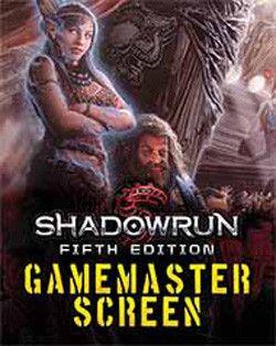 SHADOWRUN 5TH EDITION: GM SCREEN