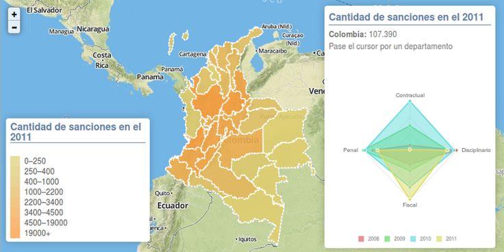 Mapa de la Corrupción en Colombia - Kronista