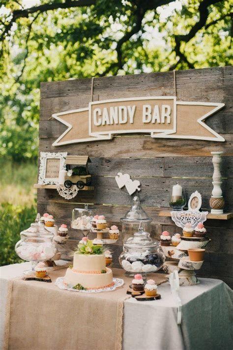 Rustic Wedding Candy Buffet Ideas Marlene S Graduation Party