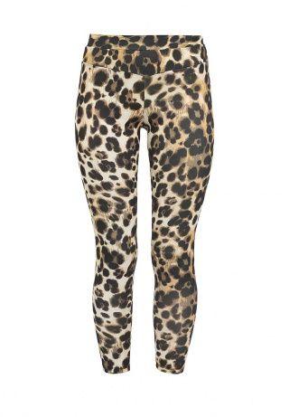 Женские стильные леггинсы от Bebe. Модель выполнена из прочной эластичной ткани с леопардовым принтом. Детали: зауженный крой, резинка на талии. В комплект к леггинсам можно приобрести топ BE007EWBNH90 из той же ткани. http://j.mp/WNmUgS
