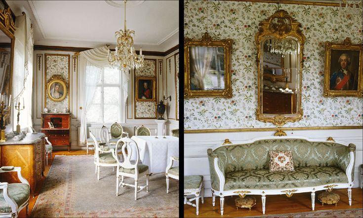Golvlampa Drottningholm