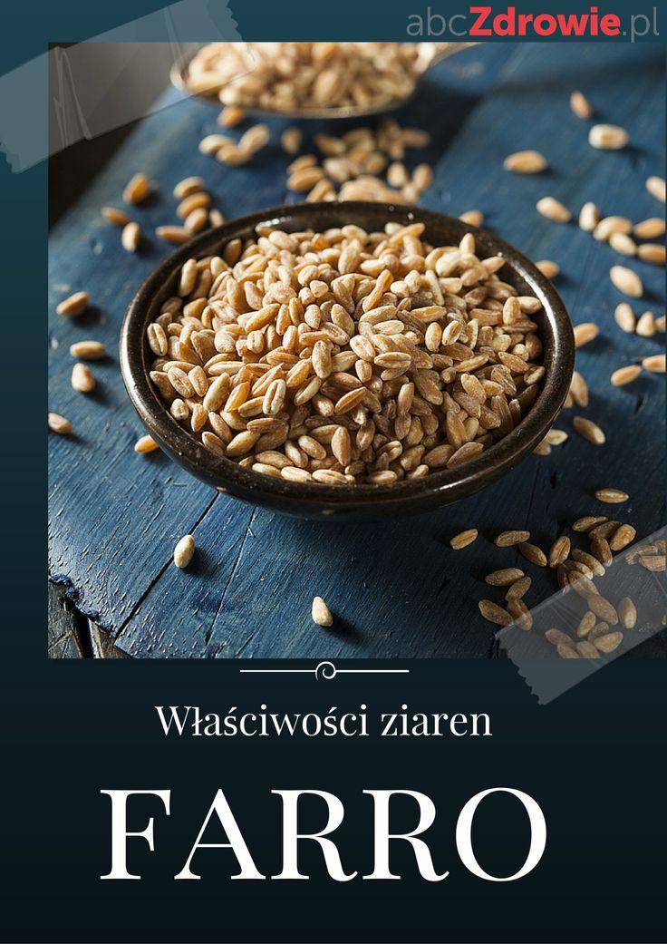 Ziarna Farro, znane też jako pszenica płaskurka, to zapomniane zboże, które znów wraca do łask. Głównie ze względu na swoje bogate właściwości odżywcze.  #farro #ziarnafarro #płaskurka #superfoods #abcZdrowie