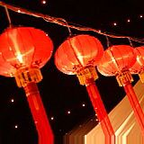 Chinese lanterns are perfect to decorate a party with and go stunningly in a Capri marquee.  LEX Marquee Hire