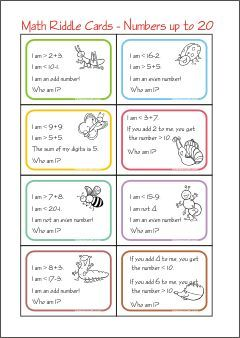 Place Value Riddle Task Cards for Three Digit Numbers Set ... |Riddles For Second Graders