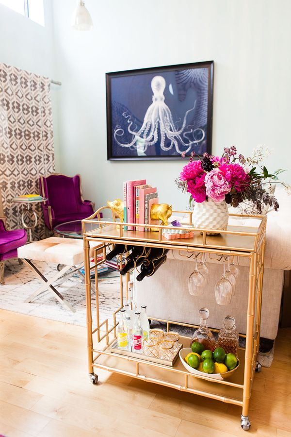 At Home With Courtney Arcese of Love + Brain Films | theglitterguide.com