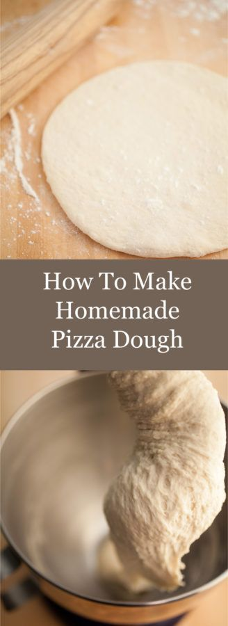Learn How To Make Homemade Pizza Dough! This step by step guide will show you how easy it is to make healthy pizza dough at home. This dough makes the best pizza. I think it's fun to roll pizza dough out by hand!