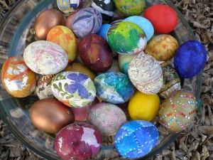 10 years of Easter eggs