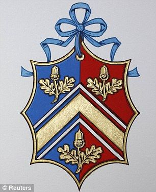 Kate Middleton gets her very own coat of arms in time for Royal Wedding (and…                                                                                                                                                                                 More