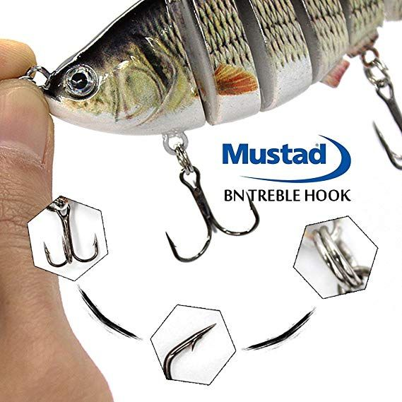 TRUSCEND Swimbaits Glide Baits for Bass Fishing Lures