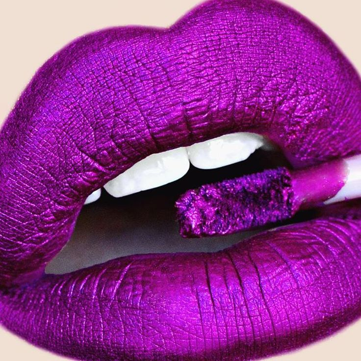 Dark fuschia lips @Limecrime in Posh #lipstick #lipgloss #makeup