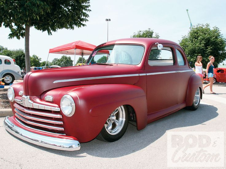 Red dress 1946 47 48  ford parts for sale