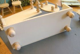 Diary of a Preppy Mom: DIY Dollhouse Furniture on the Cheap!  Now this I can do!