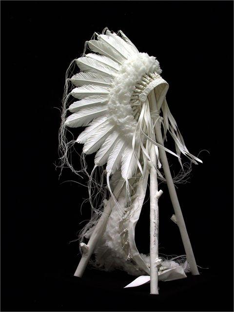 Warriors in the Wind, paper sculpture by Allen & Patty Eckman