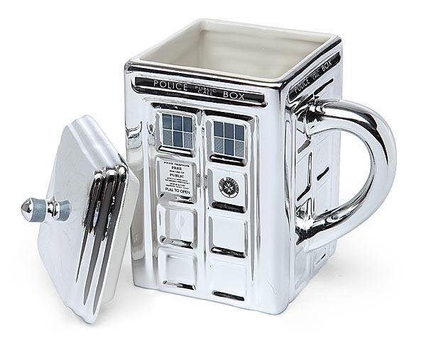 Doctor Who TARDID Sliver Coffee Mug