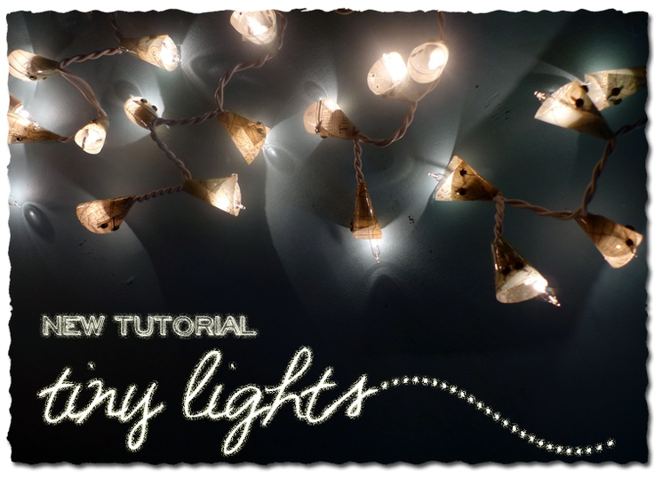 Tiny Light with Decorative covers Tutorial