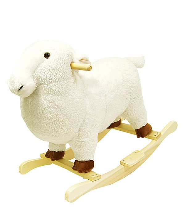 Take a look at this Lamb Plush Rocker on zulily today!