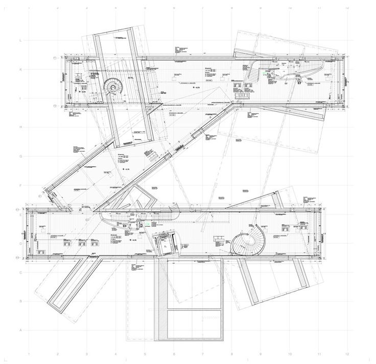 Vitrahaus Plan Architecture Pinterest D House And