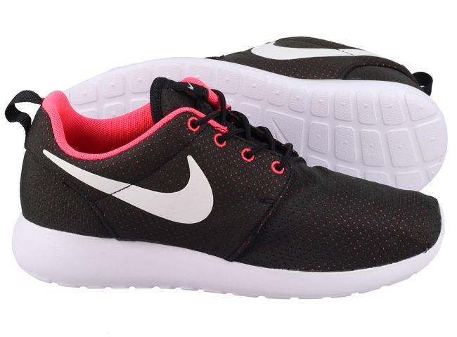 7642551a9df7 ... ireland roshe runs women black and pink cf8da ae443