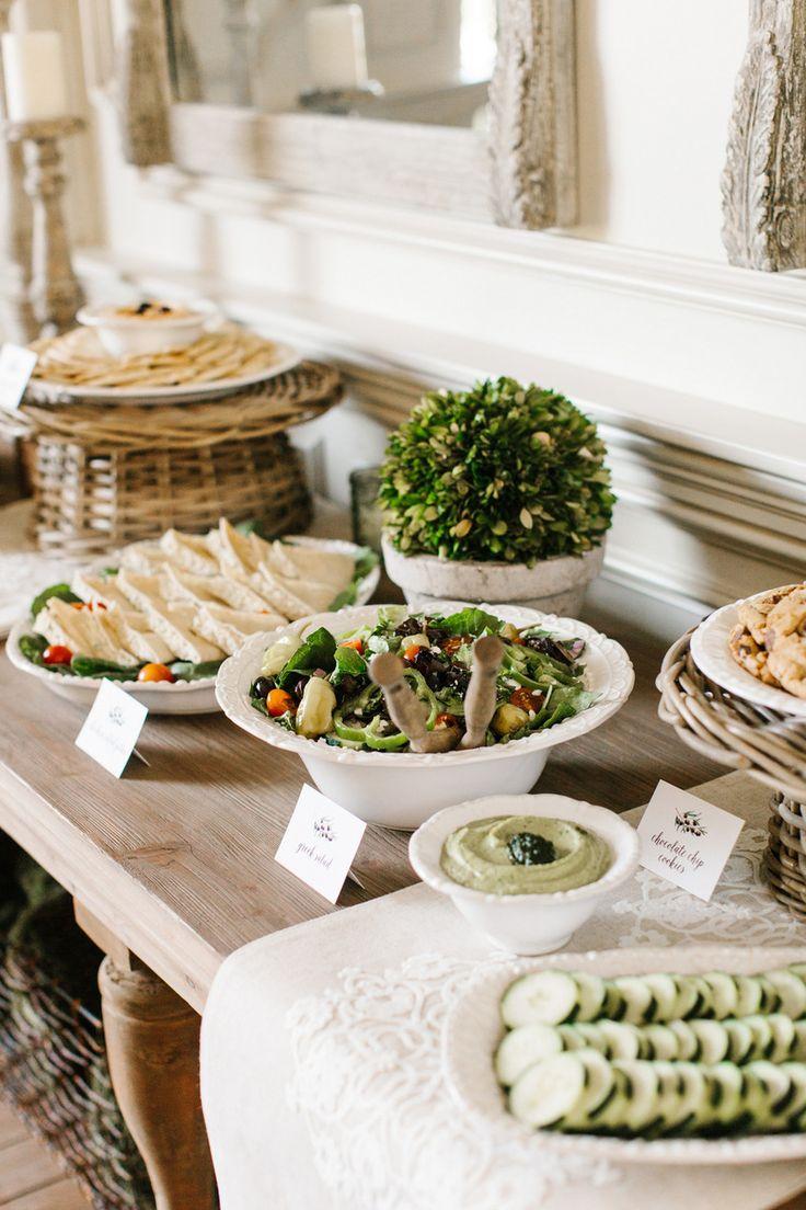The TomKat Studio | Blog: Mediterranean Shower with Zoes Kitchen
