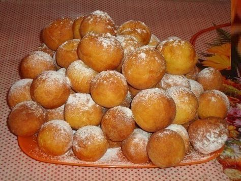 Пончики из творога. | Женский журнал