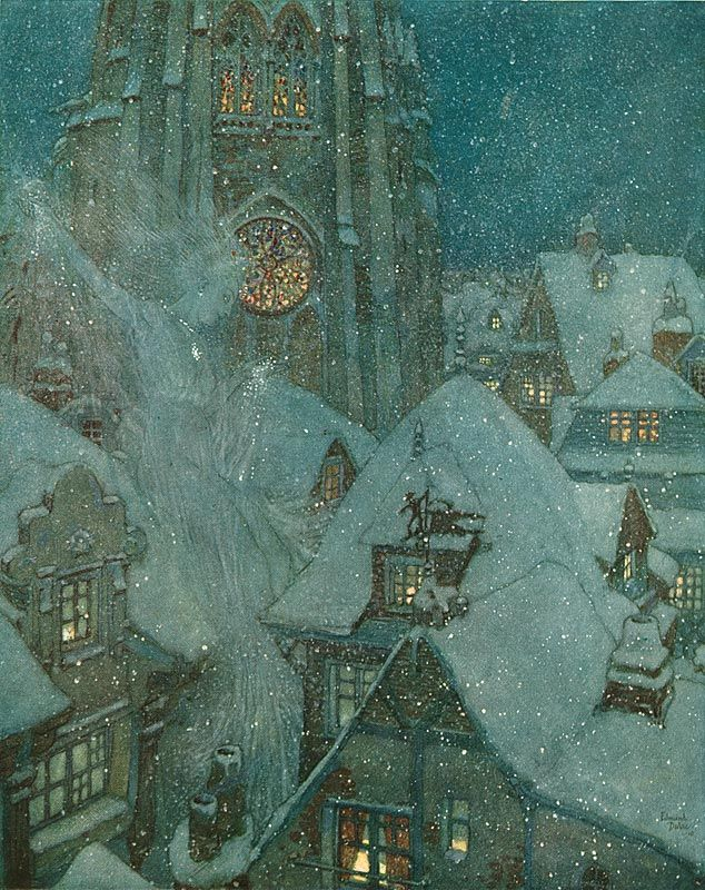 Second Story: About A Little Boy And A Little Girl; The Snow Queen and other Stories by Hans Christian Andersen ~ Hodder & Stoughton ~ 1911