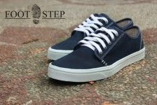 SEPATU FOOTSTEP ERGIN NAVY #sepatu | www.gloryfashion.net