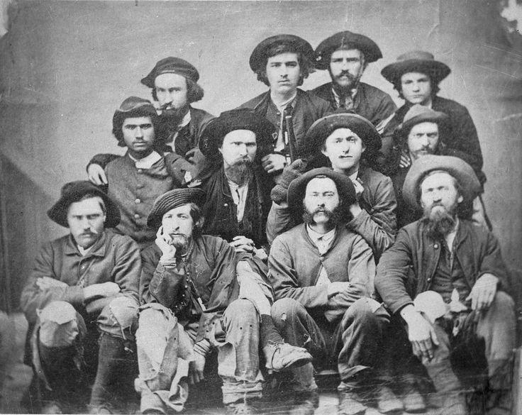 Group of raiders taken at camp douglas prison