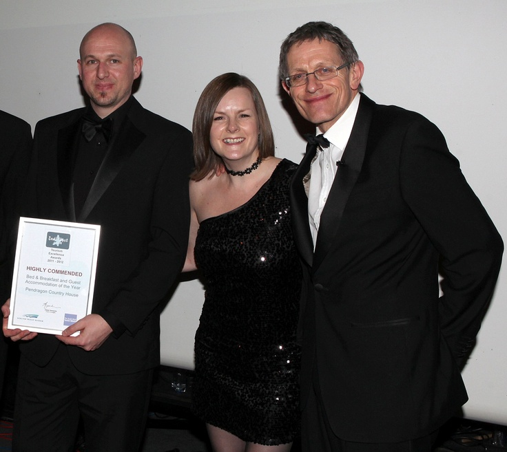 Simon Calder presented our Highly Commended for South West 2011