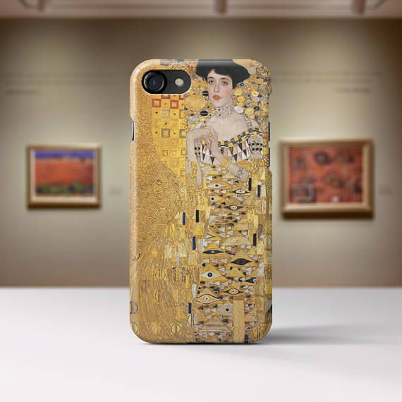 Gustav Klimt Woman with Fan. Iphone 7 case